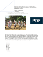 The tribes of Jharkhand consist of 32 tribes inhabiting the Jharkhand state in India.docx