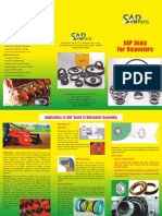 SAP PARTS' Application Engg - Flyer for Agro Equipment -Rotovator