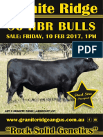 Granite Ridge Bull Sale Catalogue 2017