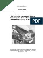 La Conciencia Trágica en La Poetica Cinematográfica de Pasolini