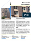 SolarWall Case Study - Fred Douglas Place (high rise multi residential) solar air heating system