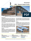 SolarWall Case Study - NREL's LEED Platinum Plus Research Support Facility (solar air heating system)