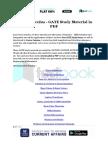 Vector Calculus - GATE Study Material in PDF