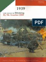 S. Zaloga, Poland 1939 Birth of Blitzkrieg