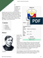 Rizal Law