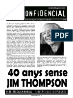 L'H Confidencial, 111. 40 anys sense Jim Thompson