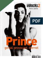 Les Inrocks 2 Hors-Série - Princé Génial Provocant Éternel 2016