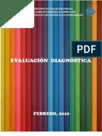 Evaluación Diagnóstica Final