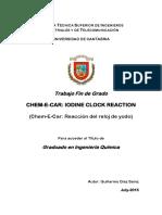 Chem e Car Reference