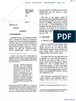 Eagle North America, Inc. v. Tronox, LLC - Document No. 13