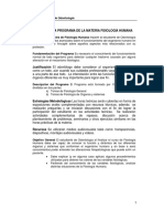 Programa de Fisiología Humana - Odontología Ucv