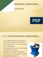 Cursos de Metalurgia Extractiva - 2.1.3 Triturador Giratorio