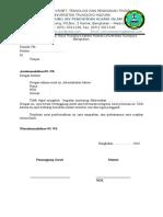 Surat Perizinan Mentoring Xiv