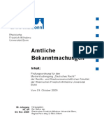 Nr 54 - 03112009 Masterprüfungsordnung Deutsches Recht Rechts- Und Staatswiss