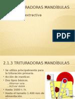 Cursos de Metalurgia Extractiva - 2.1.3.3 Triturador Mandibula