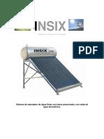 Funcionamiento de Un Calentador Solar