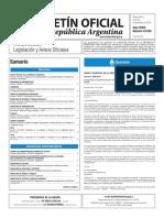 Boletín Oficial de la República Argentina, Número 33.530. 26 de diciembre de 2016