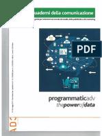 I Quaderni Della Com_Programmatic Adv the Power of Data_maggio2015