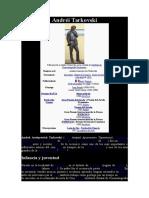 TARKOVSKI, ANDRÉI - Datos bio. y obra fílmica.doc