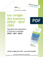 Sujet Corrige Decf Uv7 2005