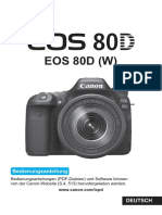 EOS 80D Instruction Manual De