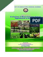 Micro Irrigation docs