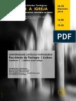 Jornadas de Estudos Teológicos 2014 FT-UCP