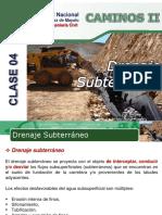 Clase 04_Drenaje Subterraneo