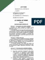 Ley General de Turismo Ley29408