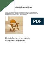 Achille Castiglioni Ginevra Chair