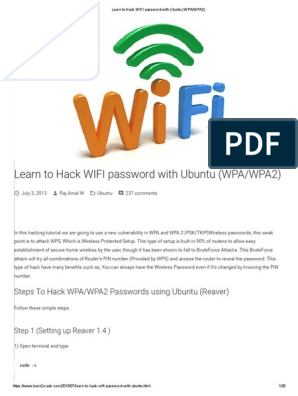 how to hack wifi password using cmd in windows 8 pdf