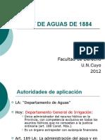 Copia de Ley de Aguas de 1884
