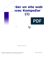 Kompozer Cours Exercices