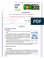 Enviar Datos Con POST en Ajax