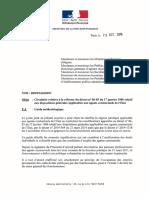 Circulaire Du 20 Octobre 2016 Relatifs Aux Contractuels en France