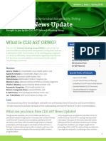 CLSI AST News Update Spring 2016