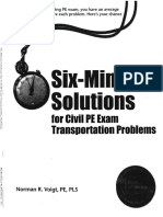 PE Practice Questions_Transportation