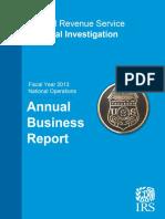 REPORT Fy2013 Ci Annual Report 02-14-2014
