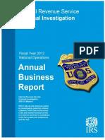 REPORT Fy2012 Ci Annual Report 05-09-2013