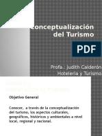 Conceptualización Del Turismo
