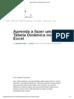 Aprenda a fazer uma Tabela Dinâmica no Excel.pdf