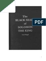 Carl Nagel - Os Selos Negros de Salomão O Rei