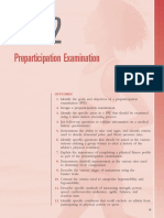 Preparticipation Examination