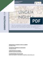 Inglês Orientações Curriculares 2016