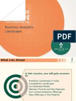 Analytics @ Imarticus