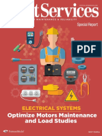 Electrical system motor maintenance
