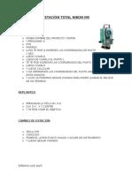 Manual Estacion Total