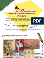 La Histologia y El Arte