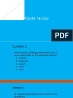 Absite January2014 Review
