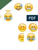 Plancha de Emoticones